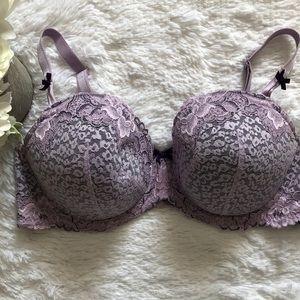 Torrid 40DD Purple Lace Bra